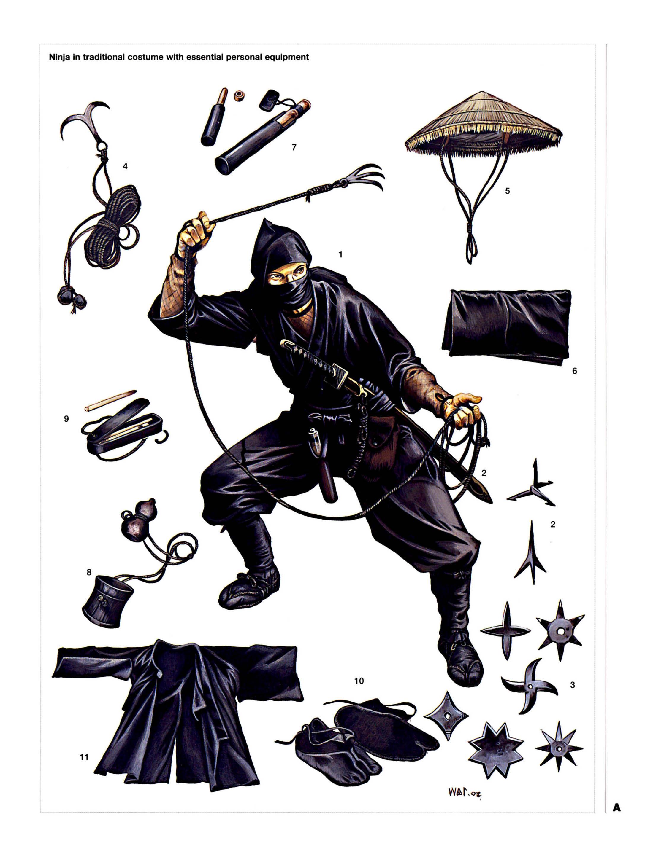 Кто такие ниндзя, Оружие и методы работы